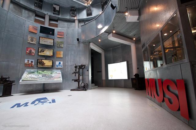 Museo de la Siderurgia de Asturias (MUSI)
