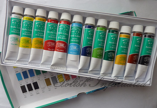 acrylic paint set2