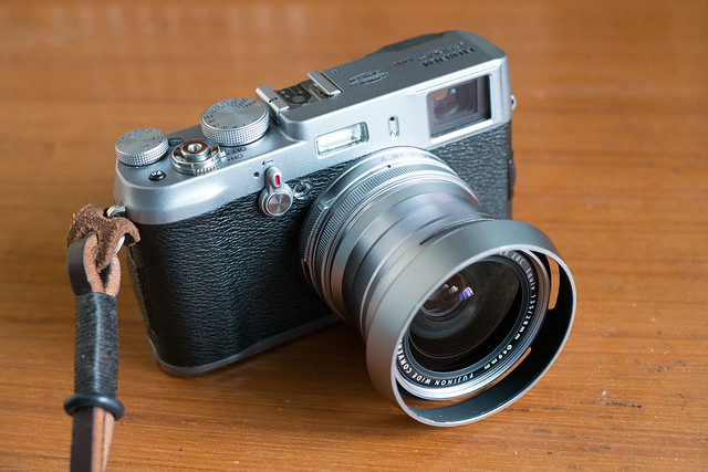 X100 with WCL-X100 Wide Angle Conversion Lens