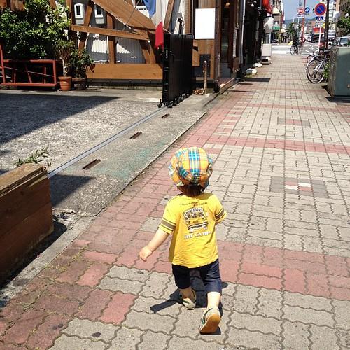 お街を散歩!