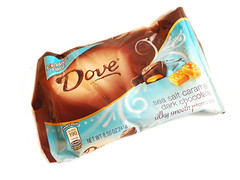 Dove Dark Chocolate Sea Salt Caramel
