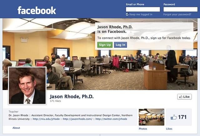 Jason Rhode, Ph.D. on Facebook