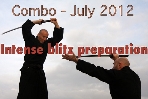 Intense 4 weeks combat Ninjutsu preparation for the AKBAn blitz