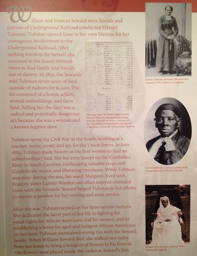 Tubman Plaque