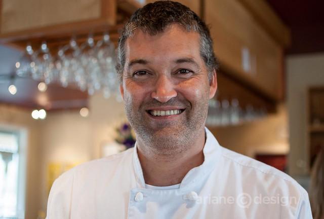 Chef/Owner Shawn Walton, Auntie Pesto's Café