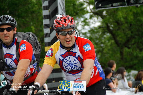 FINISH LINE CROSSING - RIDE TO CONQUER CANCER 2012 - BC Cancer Foundation - Photos by Ron Sombilon Photography-1403-WEB