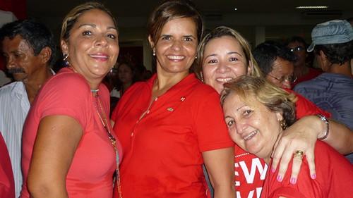 Valeria Lima, Ana Elvira Alho, Marcilene Matos e Laura Pinto