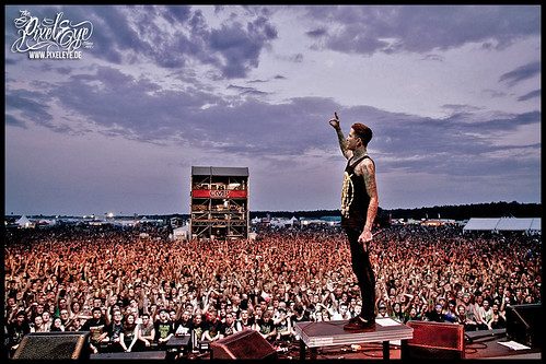 Mitch Lucker // Suicide Silence - With Full Force Festival XVII (2012)