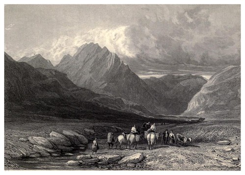 017-La montaña Trifaen-Wanderings and excursions in North Wales (1853)- Thomas Roscoe