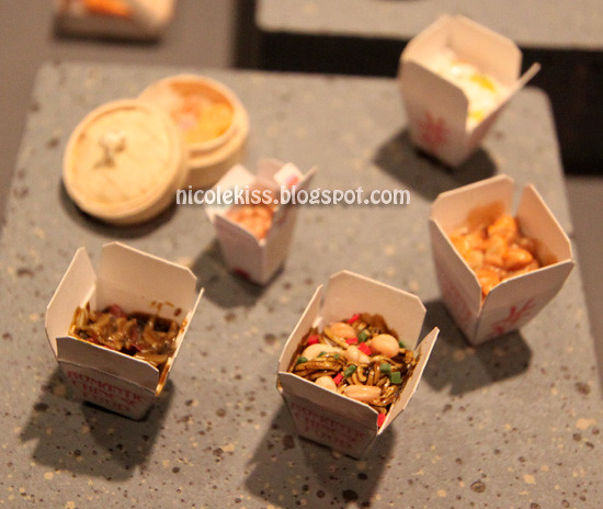 mini fried noodles