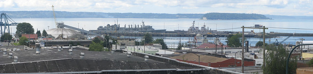 Port of Everett Panorama