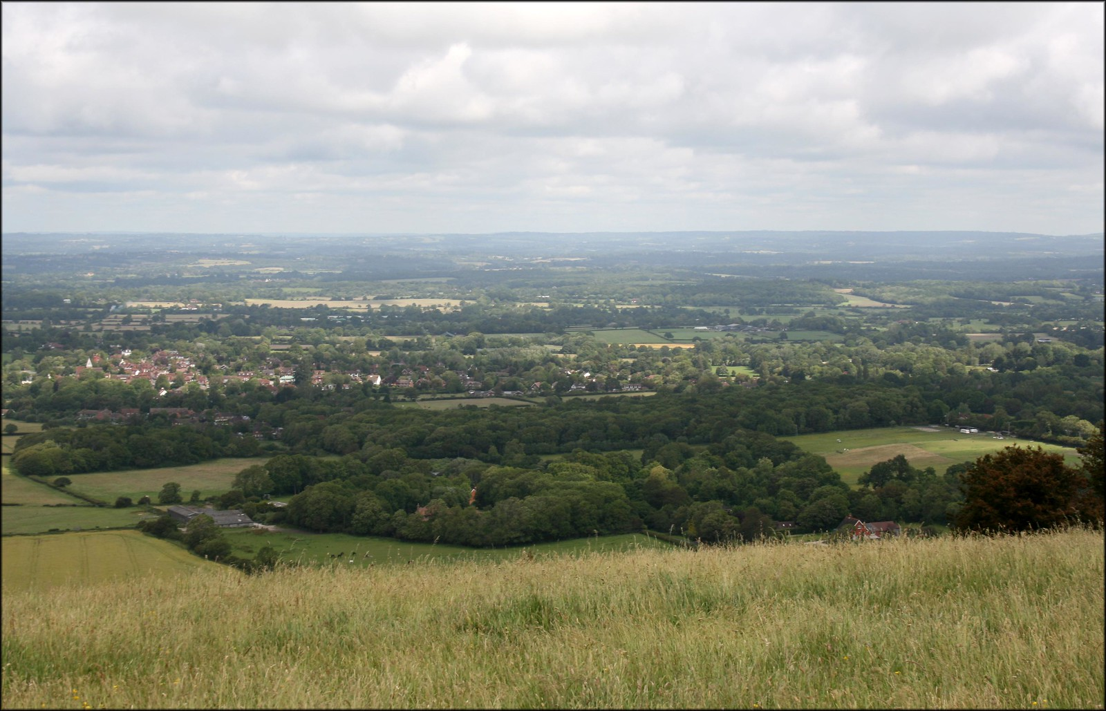 The South Downs near Ditchling Beacon