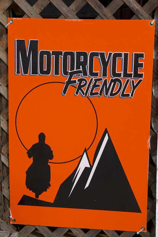 Motorcycle fiendly