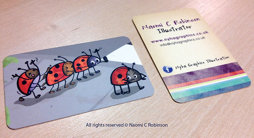 Ladybird Business Cards 2012