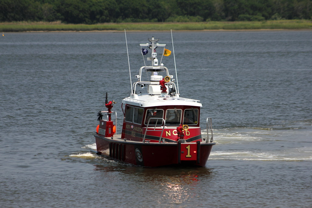 North Charleston Fire Department's fireboat, NCFD Marine 1