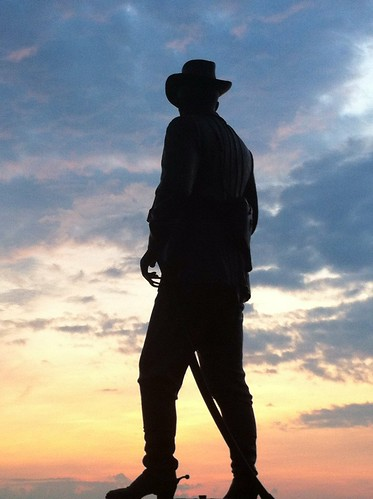 dusk gettysburg civilwar buford cwt1863