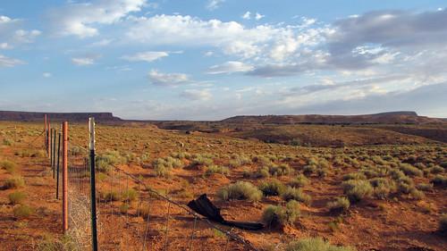 Navajo land