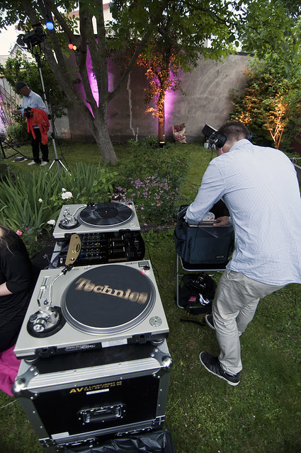 DJ Lowenhamn at TedX Almedalen