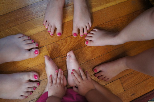 Painted Toes!