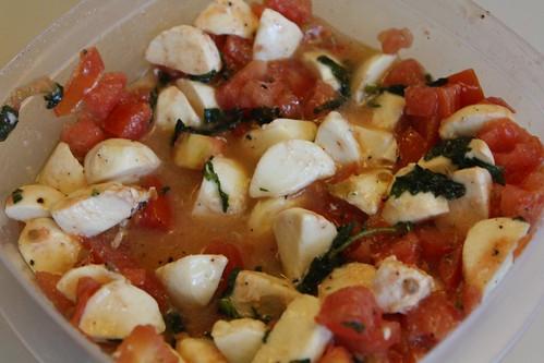 Jersey Tomato, Lioni Mozzarella, and Gotham Greens Basil