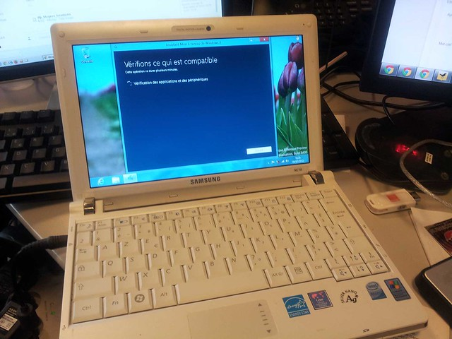 Windows 8 sur NC10