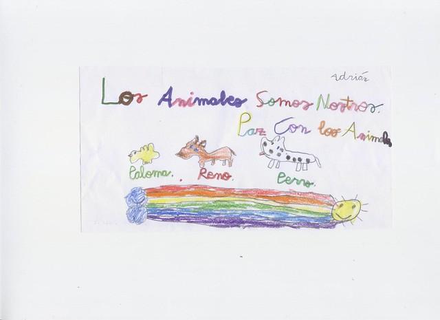 Los niños quieren a los animales