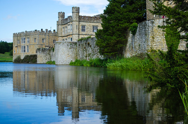 Leeds Castle Moat Flickr Photo Sharing