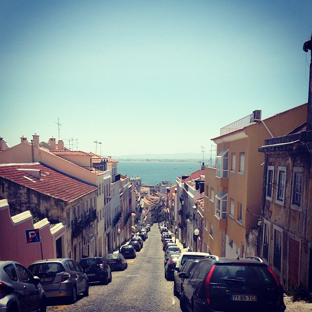 My favorite view. #lisbon