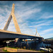 The Leonard P. Zakim Bunker Hill Bridge - Boston, MA