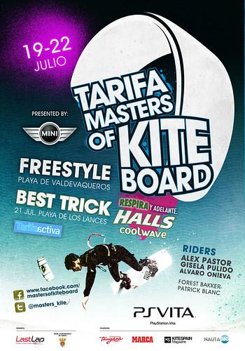 Cartel_Tarifa_Masters_Kiteboard