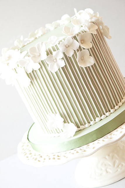 Cake Decorating Striped Icing : Striped Birthday Cake Flickr - Photo Sharing!