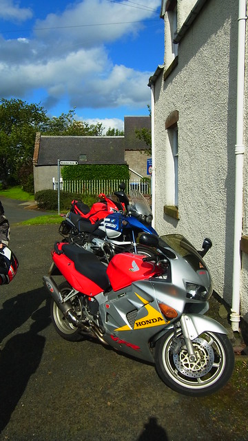 Bikes at Euan's