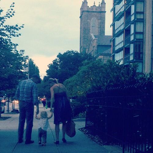 DC evening stroll