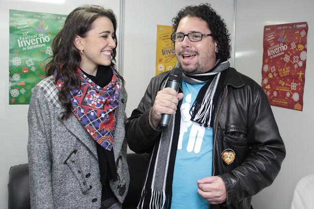 Roberta Sá conversou ao vivo com Ivan antes do show |Foto: Olívia Leite