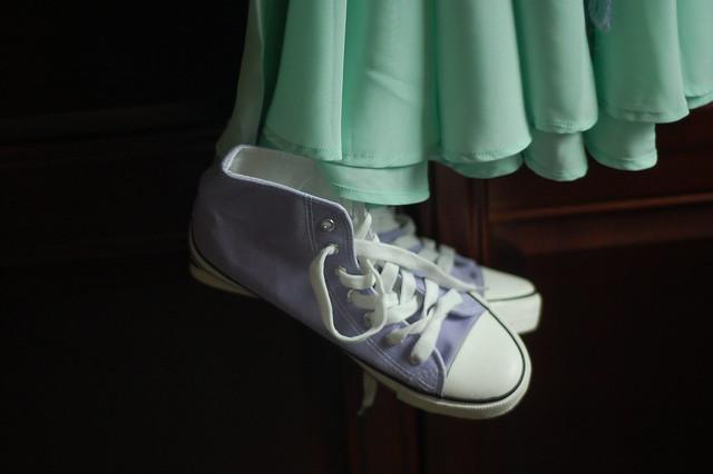 lilac chucks