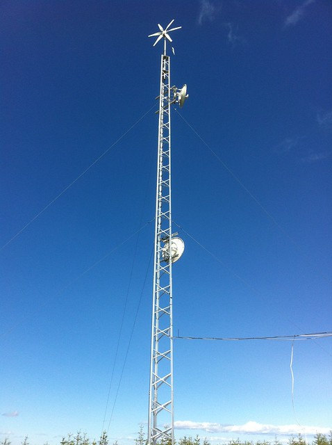 Wind Solar Tower And Some Questions Ubiquiti