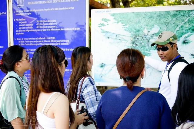 Angkor Wat Complex Map