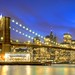 Blue Hour & Brooklyn Bridge by Luís Henrique Boucault