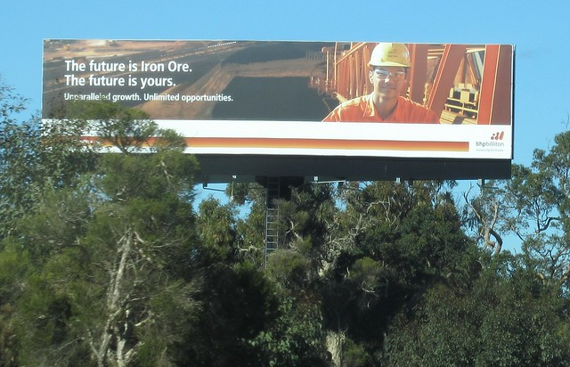 Billboard on the road south