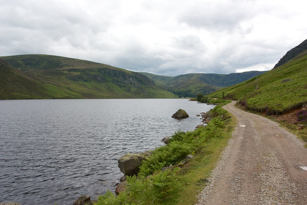 West down Loch Lee