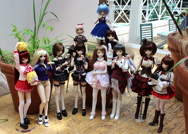 Dollfie Dream meetup in Toronto