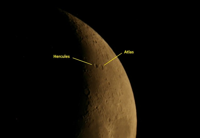 Hercules and Atlas Craters