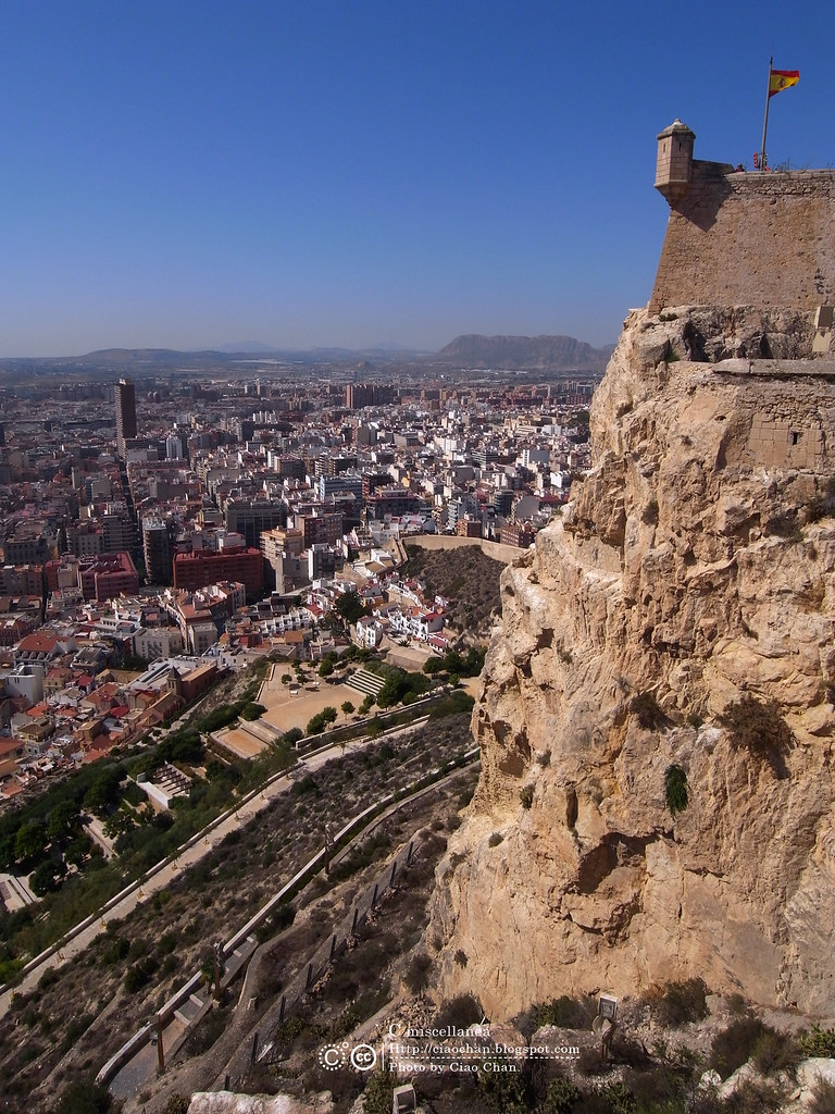 Hola Alicante~ 阿利坎特。地中海的熱度 Castillo de Santa Barbara 聖巴巴拉城   R1043581