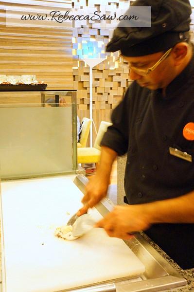 oasia hotel - zaffron restaurant - cold stone ice cream-002