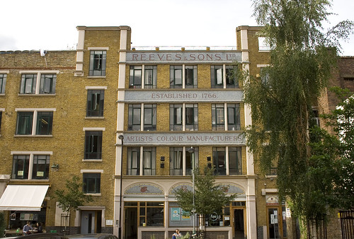 Old Reeves building in Dalston