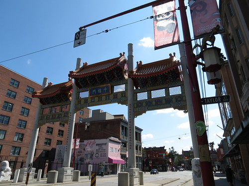 Now entering Chinatown