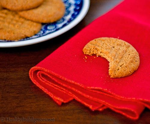 Healthier Peanut Butter Cookies, pt. 2