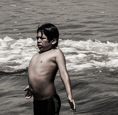 Boy in the Ocean