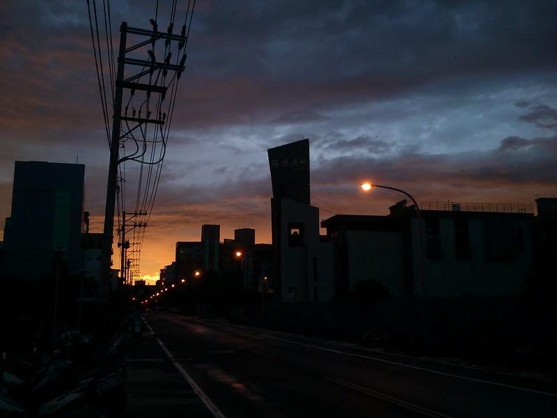 颱風Bye【手機一張】