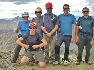 CMC Climbers on La Plata Summit - Ellingwood Ridge Success!